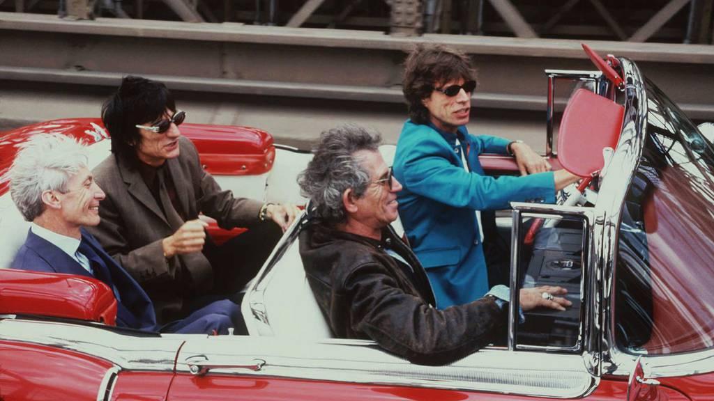 Rolling Stones in Zürich gelandet