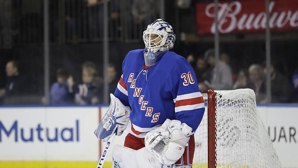 Zeigte eine starke Leistung: Rangers-Goalie Henrik Lundqvist.