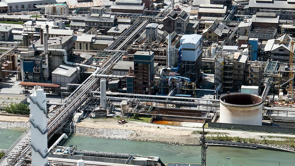 Gas bei Lonza ausgetreten: Mitarbeiter tot aufgefunden