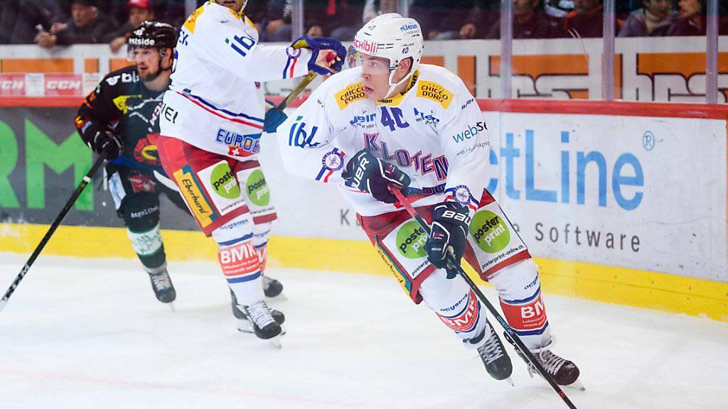 Bleibt bis Ende Saison bei Kloten: Tomi Sallinen