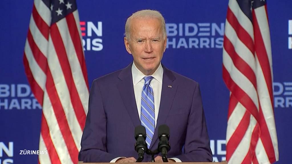 Wahlen USA: Biden mit leichtem Vorsprung