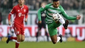 Bremens Serge Gnabry schoss Wolfsburg mit zwei Toren fast im Alleingang ab