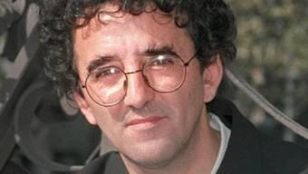 Der chilenische Schriftsteller Roberto Bolaño (1953–2003). Foto von 1998.