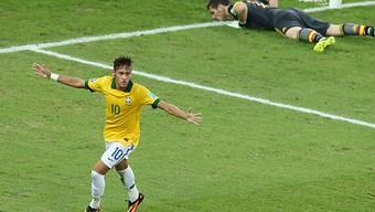 Die grösste Attraktion bei den Brasilianern: Neymar.