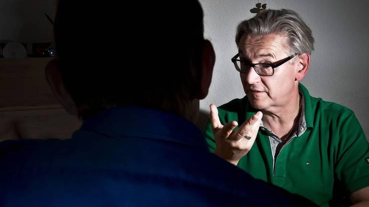 Polizeipsychologe Horst Hablitz: «Ich verehre die Institution Polizei noch immer.» Annika Bütschi