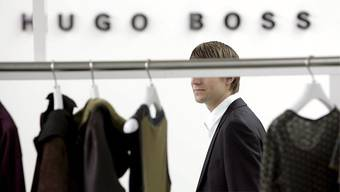 Hugo Boss mit Rekordumsatz