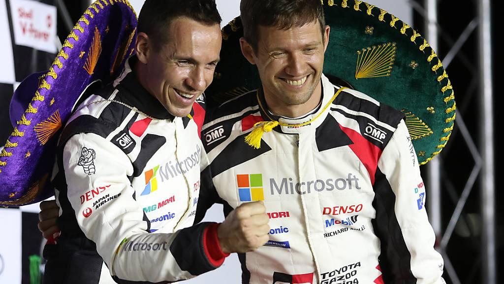 Sébastien Ogier gewinnt verkürztes Rallye Mexiko