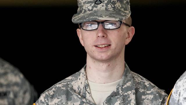 Der mutmassliche Wikileaks-Informant Bradley Manning (Archiv)