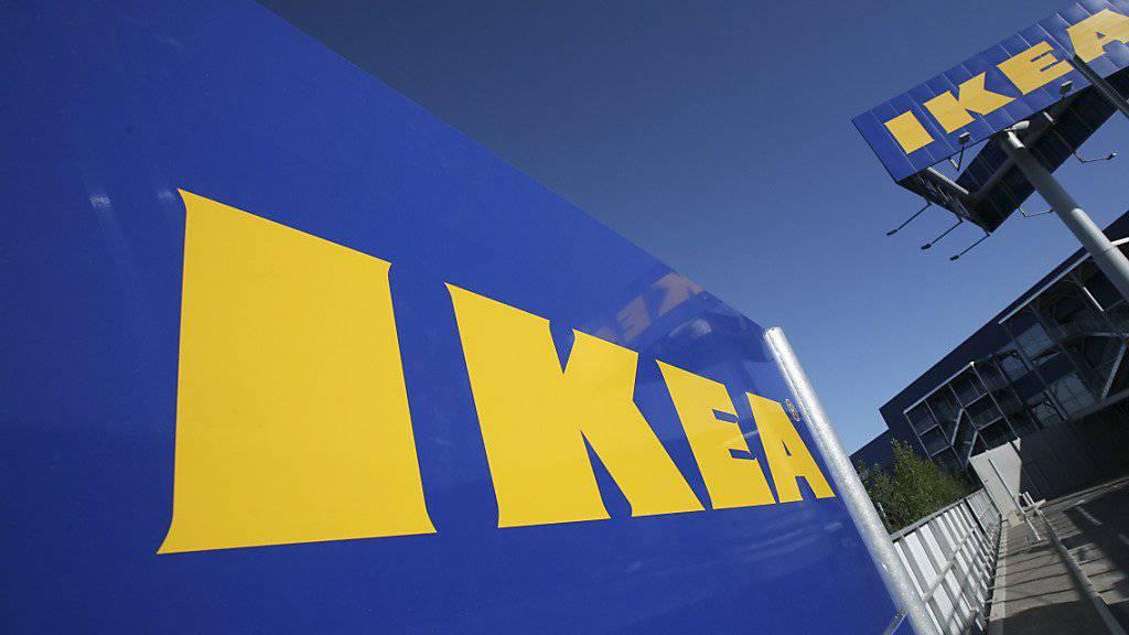 Der schwedische Möbelkonzern hat ein neues Logo. (Archivbild)