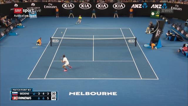 Federer souverän in der nächsten Runde