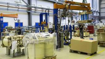 Industriebetrieb in der Schweiz (Archiv)
