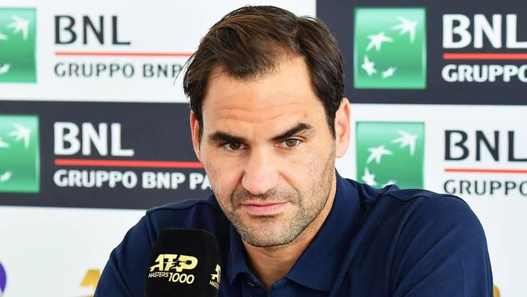 «Ich verstehe den Frust, es ist nicht gut, aber ich kann nichts machen.» - Roger Federer über den Unmut der Fans.