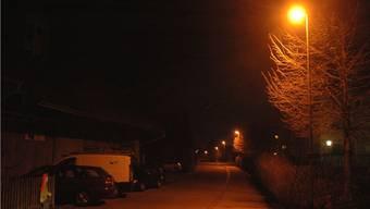 In der Nacht bleibts künftig dunkel auf der Dorfstrasse in Lauffohr.