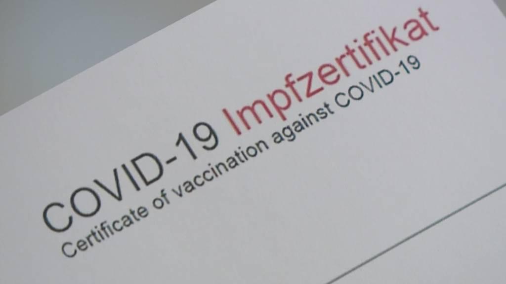 Offene Fragen: Covid-Zertifikat ab nächster Woche im Test