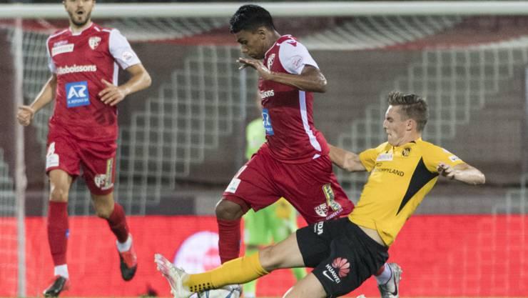 Sion und die Young Boys treffen neun Tage nach dem Duell in der Super League bereits wieder aufeinander
