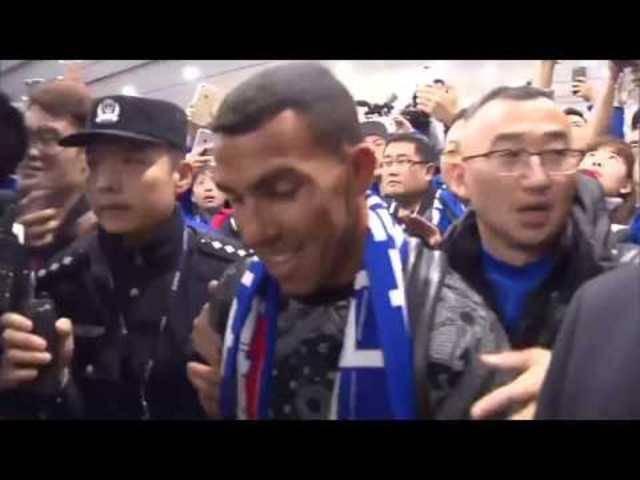 Die Ankunft von Carlos Tevez in China