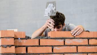 Auf dem Bau hat es viel mehr Arbeitslose als offene Stellen.