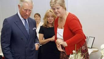 Hats gerne blumig: Prinz Charles ist neuer WWF-Präsident für Grossbritannien (Archiv)
