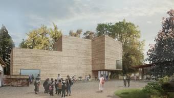 Das Erweiterungsprojekt der Fondation Beyeler von Atelier Peter Zumthor könnte am Ende so aussehen.
