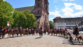 Die berittene Solothurner Artilleriemusik