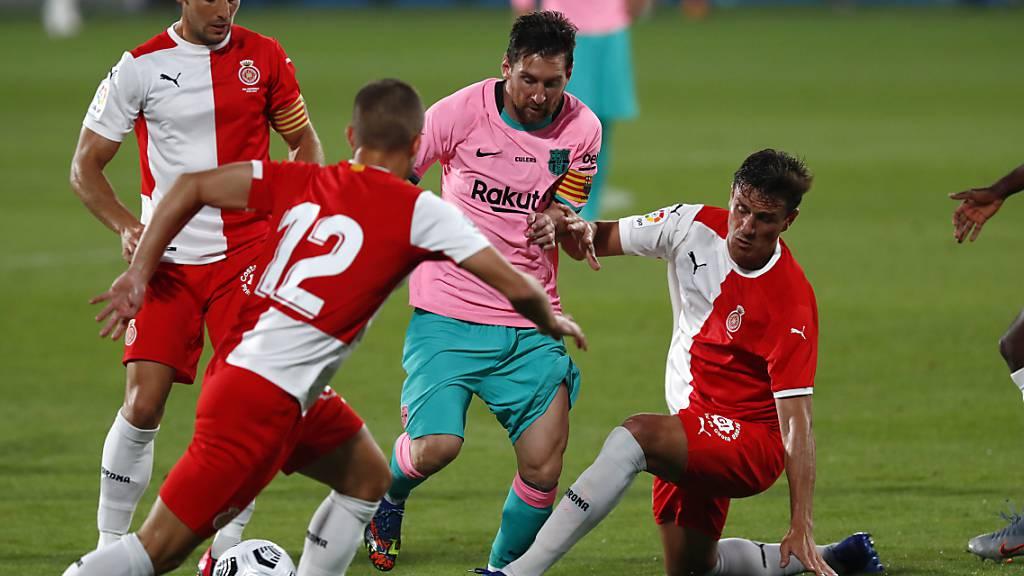 Lionel Messi führt Barcelona zum Testspiel-Sieg gegen Girona