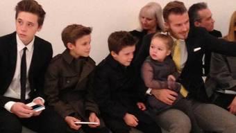"""""""Becks"""" und seine vier Kinder. Das muss vorerst genügen (Archiv)"""