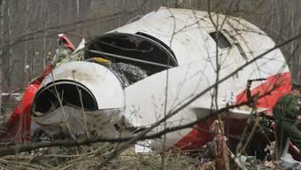 Bei dem Flugzeugabsturz im Jahr 2010 in Russland kamen 96 Menschen ums Leben kamen, darunter der damalige Präsident Polens, Lech Kaczynski und seine Frau. Sie wollten zum 70. Jahrestag des Massakers von Katyn bei Smolensk an einer Gedenkfeier teilnehmen. (Archivbild)