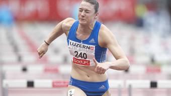 Noemi Zbären bei ihrem Wettkampf im Juli 2017 in Luzern