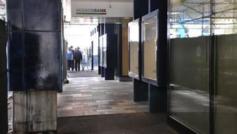 Nur noch Bancomat statt Schalter? Bei der Migros-Bank in Aarau stehen einschneidende Veränderungen an