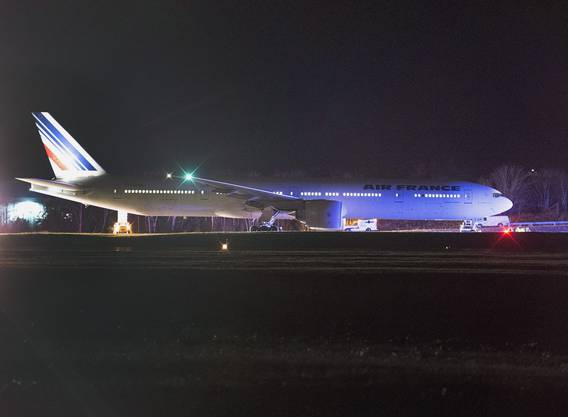 Auf zwei Flugzeuge der Air France wurde eine Bombendrohung ausgesprochen