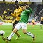 Gilt als grosses Talent:  St. Gallens Innenverteidiger Leonidas Stergiou