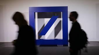 Zwei Ex-Händler der Deutschen Bank sind in den USA im Libor-Skandal für schuldig befunden worden. (Archivbild)