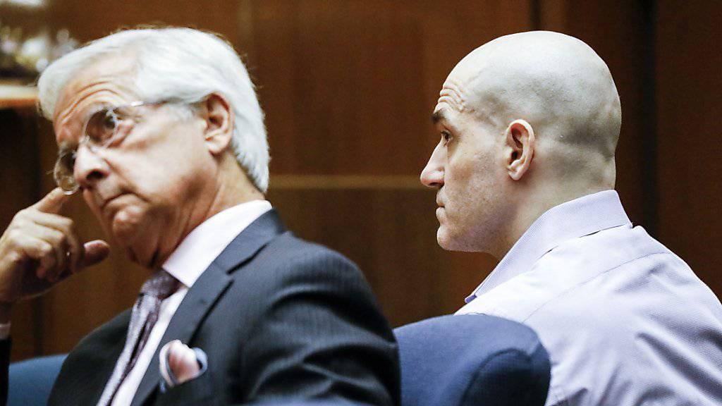 Wurde als «Hollywood Ripper» in der Presse bekannt: der mutmassliche US-Serienmörder Michael Thomas Gargiulo (Rechts).