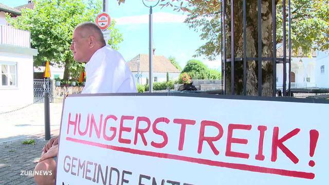 Altendorf: Hungerstreik wegen Wohnungsentzug