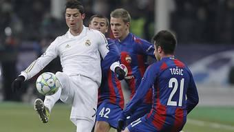 Reals Ronaldo schoss in Moskau das wichtige Auswärtstor