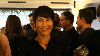 SP-Politikerin Colette Basler feierte ihren Einzug in den Grossrat mit ihren Genossen im «Gossip» in Aarau. Dennis Kalt