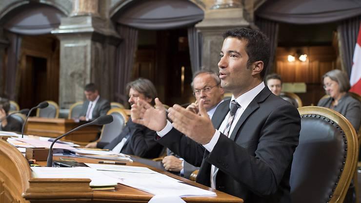 """Ständerat Andrea Caroni (FDP/AR) setzte sich gegen allzu viele Ausnahmen bei der Umsetzung der Pädophilen-Initiative zur Wehr. Diese müsse so """"pfefferscharf wie bestellt"""" umgesetzt werden."""