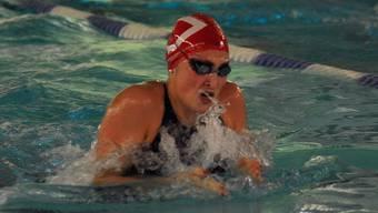 Silvana Huber (Aarefisch) war über 50 Meter Brust erfolgreich.