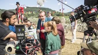 Die grösste Schweizer Filmproduktion des Jahres: Papa Moll.