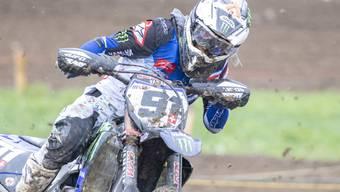 Motocross-Fahrer Jeremy Seewer zählt zu den Favoriten auf den WM-Titelgewinn