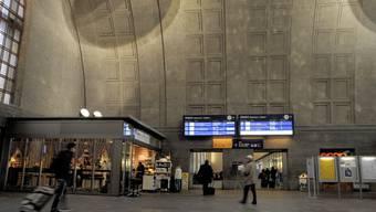 Der Badische Bahnhof in Basel. Hier sollen die meisten illegalen Grenzübertritte stattfinden.