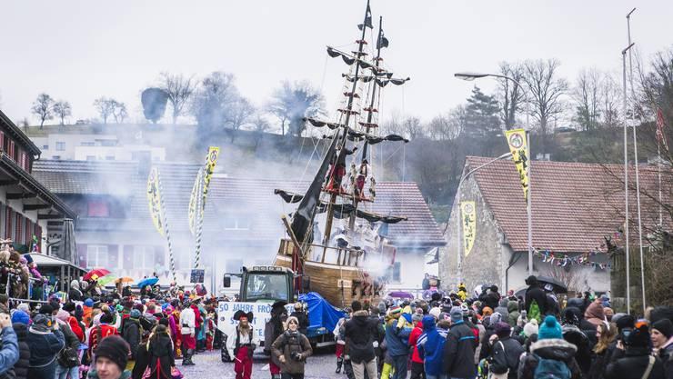 Letztes Jahr feierte der Würenlinger Fasnachtsumzug sein 50. Jubiläum.