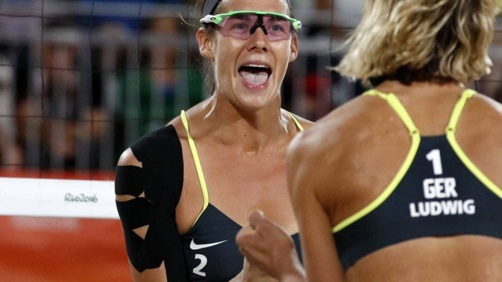 Kira Walkenhorst (links) im Olympia-Final 2016 in Rio de Janeiro