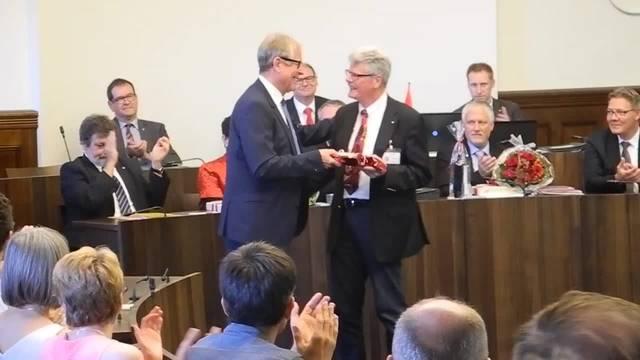 «Goodbye Fritz»: Der Ratssekretär wird vom Kantonsrat und der Regierung verabschiedet