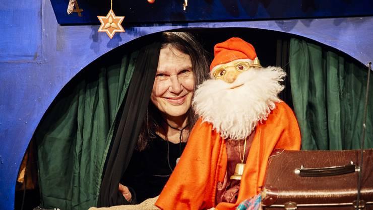 Monika Schmucki spielt seit 30 Jahren hauptberuflich mit Puppen.