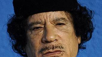 Libyscher Präsident Muammar Gaddafi (Archiv)