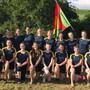 Die letztjährige Wettkampfgruppe des DTV Zunzgen am Turnfest in Gipf-Oberfrick