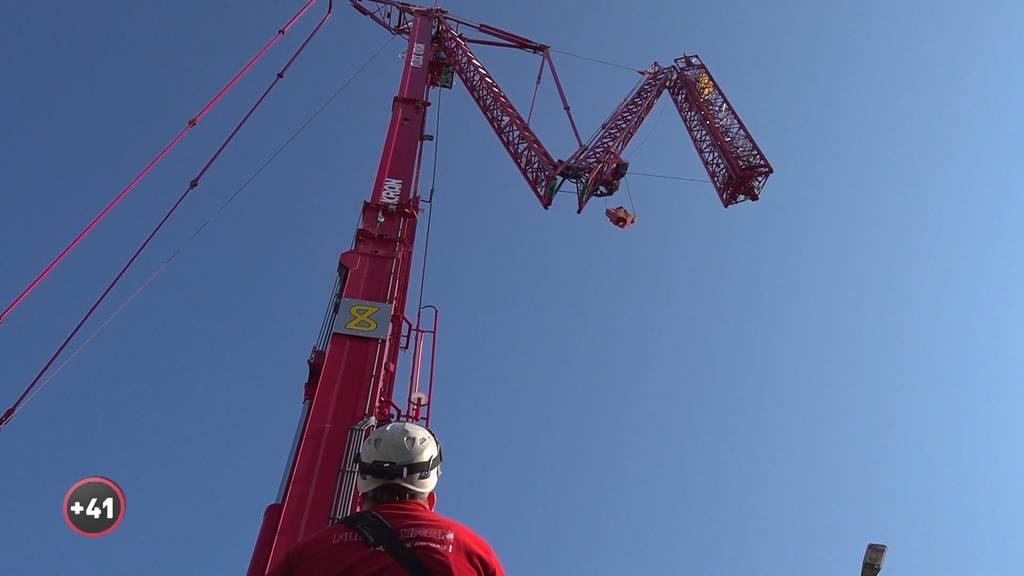Megamaschinen: Der weltgrösste mobile Faltkran