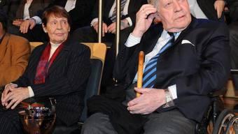 Ruth Loah und Helmut Schmidt sind ein Paar