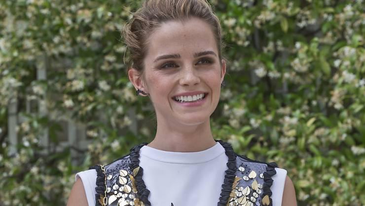 """Die Schauspielerin Emma Watson (29) nennt ihren Single-Status """"selbst-verpartnert"""". (Archivbild)"""